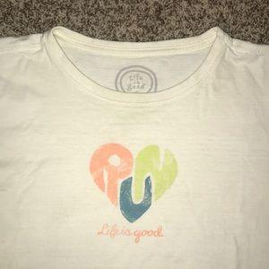 Life is good -RUN t-shirt